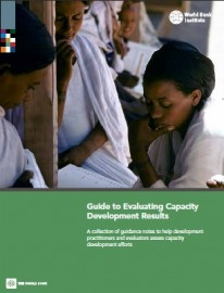 World Bank resource on evaluating capacity development results includes institutionaldimension