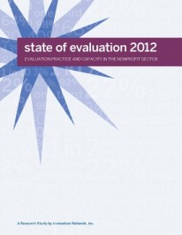 State of Evaluation 2010 and 2012: shedding some light on U.S. nonprofit evaluation