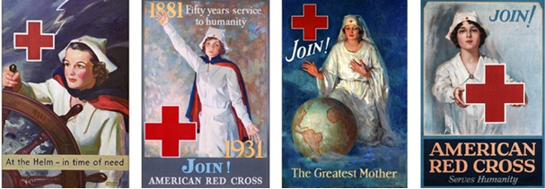 1 red cross poster